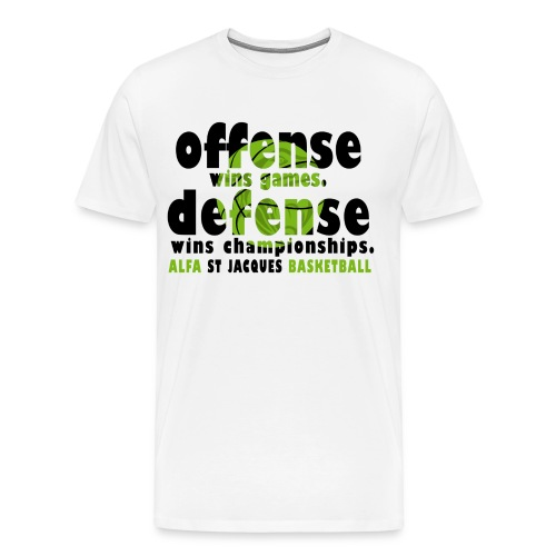 T-SHIRT Offense wins games HOMME - T-shirt Premium Homme