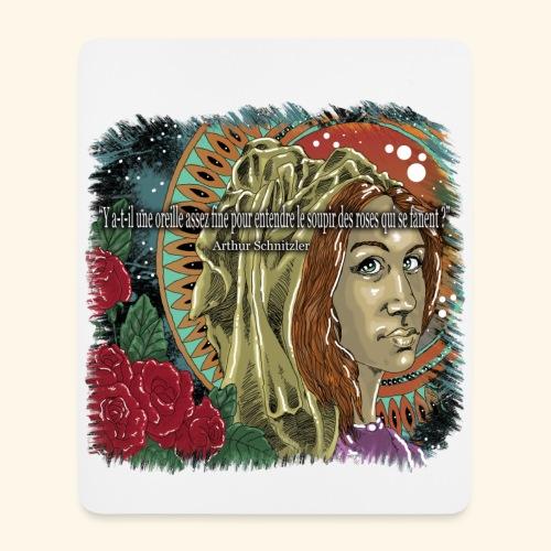 Le soupir des roses - Tapis de souris (format portrait)