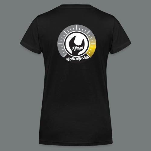 ffnzo offciel girl - T-shirt bio col V Stanley & Stella Femme