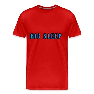 Big sleep, T shirt - Men's Premium T-Shirt