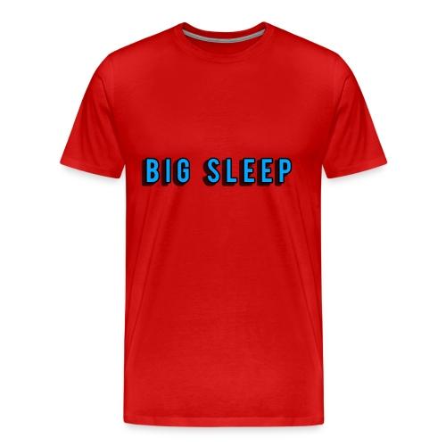 Big sleep, T shirt - Men's Premium T-Shirt