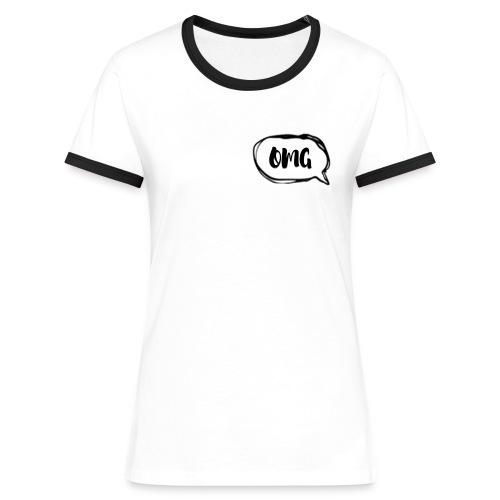OMG! - Women's Ringer T-Shirt