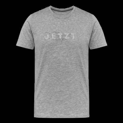 JETZT - T-SHIRT MEN - dunkelblau - Männer Premium T-Shirt