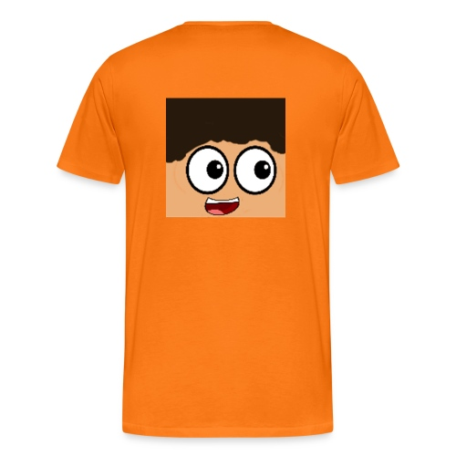 Orange Mens Wilz_ T-shirt - Men's Premium T-Shirt