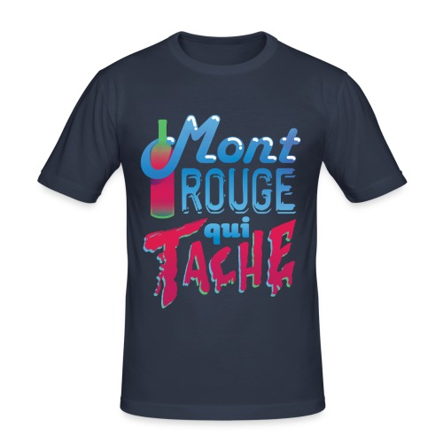 Montrouge Qui Tache - T-shirt près du corps Homme