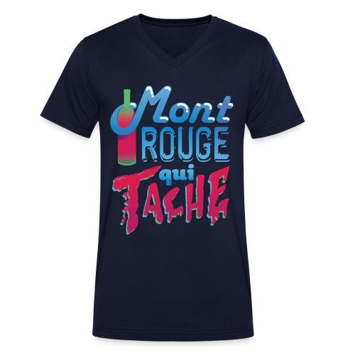 Montrouge Qui Tache - T-shirt bio col V Stanley & Stella Homme