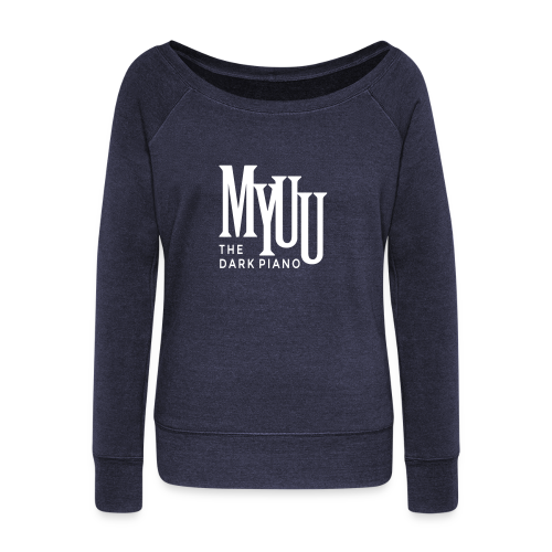Myuu Logo Sweater II ♀ - Women's Boat Neck Long Sleeve Top