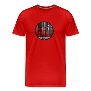 Colorful Red - Männer Premium T-Shirt