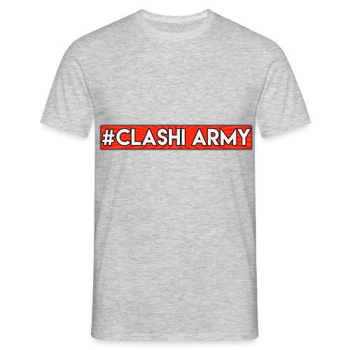 #Clashi Army - T-Shirt  - Männer T-Shirt
