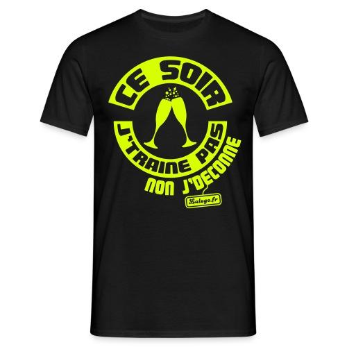 T-shirt Ce soir j'traine pas… - T-shirt Homme