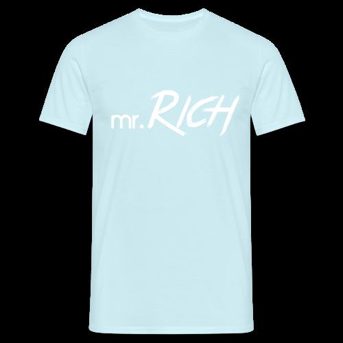 Mr. Rich (Sky-Blue-Classic) - Männer T-Shirt