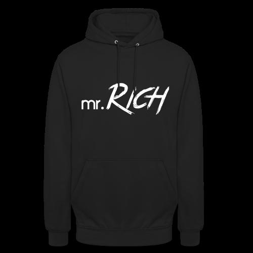 Mr. Rich (Black-Hoddy) - Unisex Hoodie