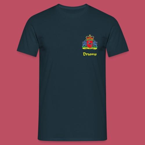 Essern Highlanders Shirt Logo Piper - Männer T-Shirt