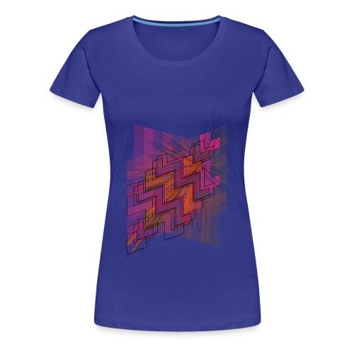 Frauen Premium T-Shirt - Mandelbrot