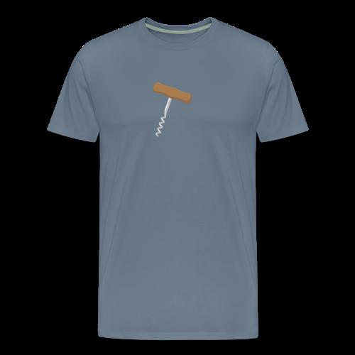 Kurkentrekker mannen premium - Mannen Premium T-shirt