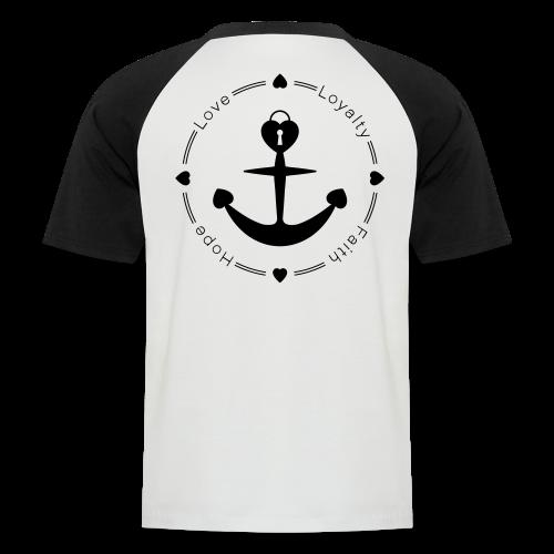 LLFH Männer Baseball-T-Shirt - Männer Baseball-T-Shirt