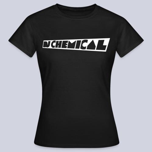 DJ Chemical Frauen T-Shirt Schwarz - Frauen T-Shirt