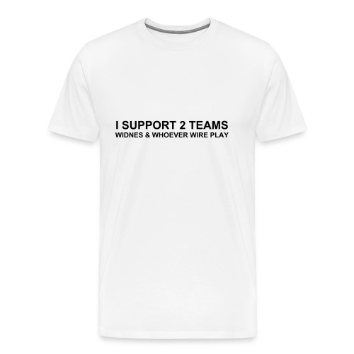 Widnes - 2 Teams - Men's Premium T-Shirt