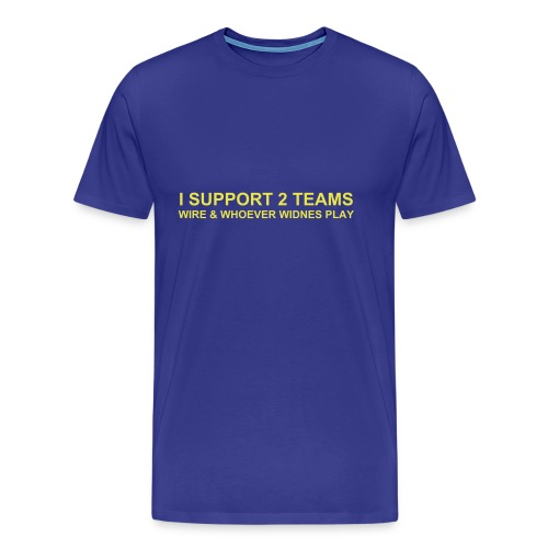 Wire - 2 Teams - Men's Premium T-Shirt