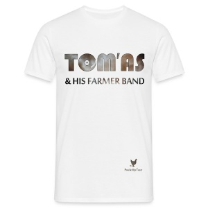 T shirt homme - Tom'As & His Farmer Band / Blanc et +  - T-shirt Homme