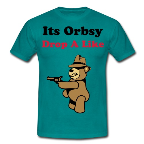 Drop A Like  - Men's T-Shirt