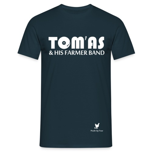 T shirt homme - Tom'As & His Farmer Band / Bleu et +  - T-shirt Homme