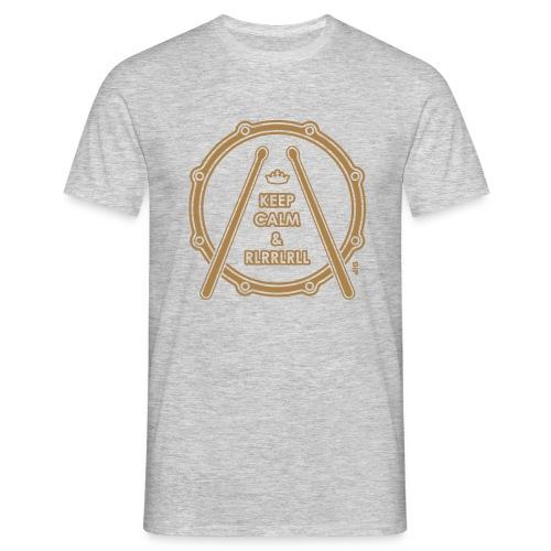 Keep Calm & RLLR - Mannen T-shirt