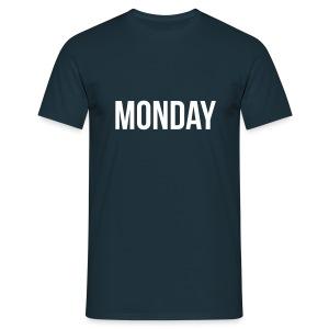 Monday t-shirt - Men's T-Shirt