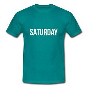 Saturday t-shirt - Men's T-Shirt