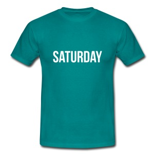 Saturday t-shirt - Men's T-Shirt