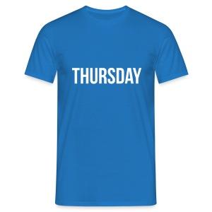 Thursday t-shirt - Men's T-Shirt