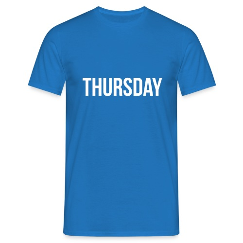 Thursday t-shirt - Men's T-Shirt