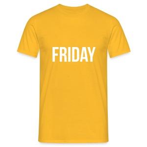 Friday t-shirt - Men's T-Shirt