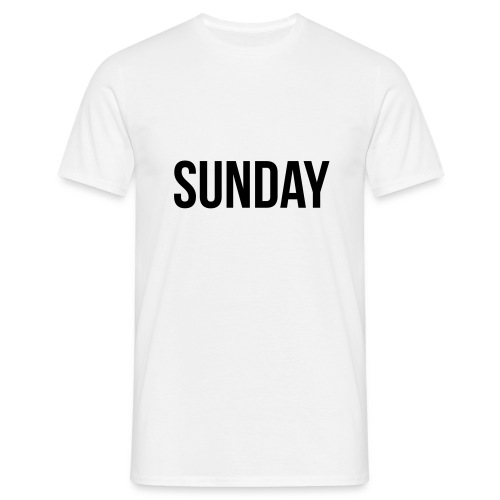 Sunday t-shirt - Men's T-Shirt