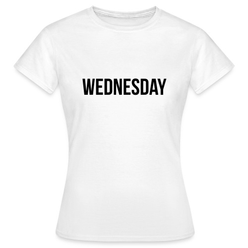 Wednesday t-shirt - Women's T-Shirt