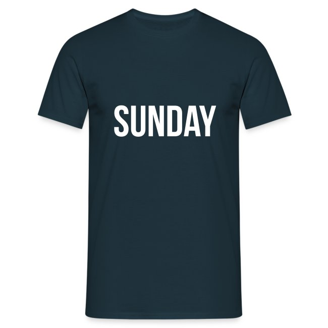 Sunday t-shirt