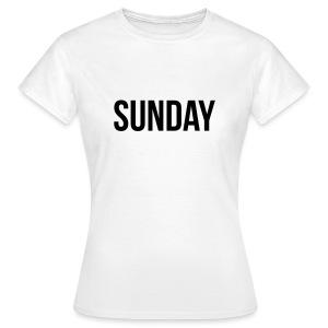 Sunday t-shirt - Women's T-Shirt