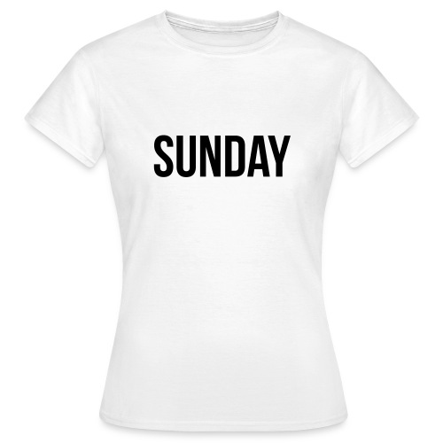 Sunday t-shirt - Women's T-Shirt