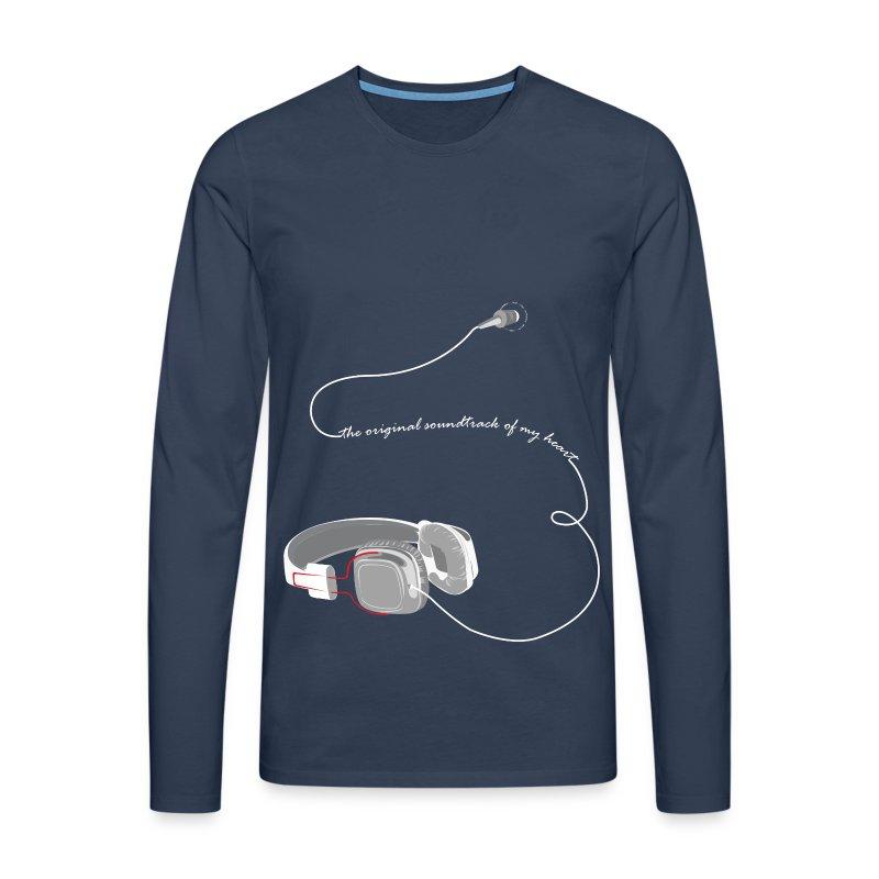 CASQUE BLANC - T-shirt manches longues Premium Homme