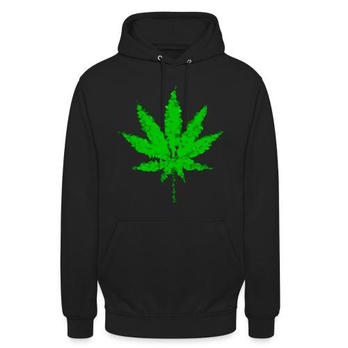 Unisex Weed Pullover - Unisex Hoodie