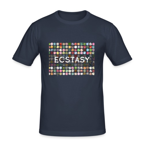 Men XTC Shirt - Männer Slim Fit T-Shirt