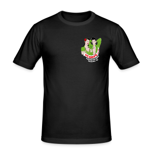 Male Slim Fit Shirt - slim fit T-shirt