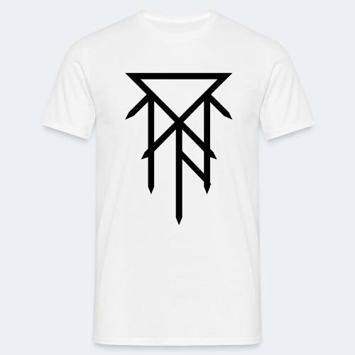 T-shirt avec logo noir - T-shirt Homme