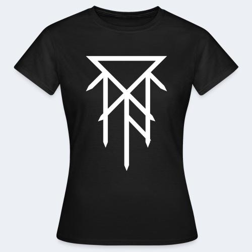 T-shirt avec logo blanc - T-shirt Femme