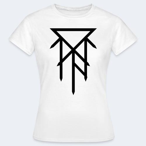 T-shirt avec logo noir - T-shirt Femme