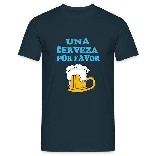 Una Cerveza por favor - Männer T-Shirt