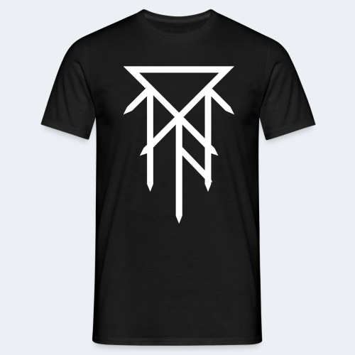 T-shirt avec logo blanc - T-shirt Homme