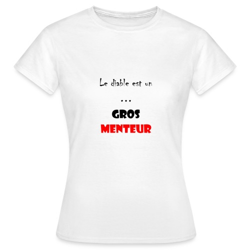 #LDEUGM T-shirt femme - T-shirt Femme