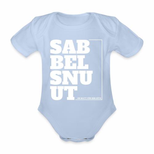 Sabbelsnuut - Strampler - Baby Bio-Kurzarm-Body