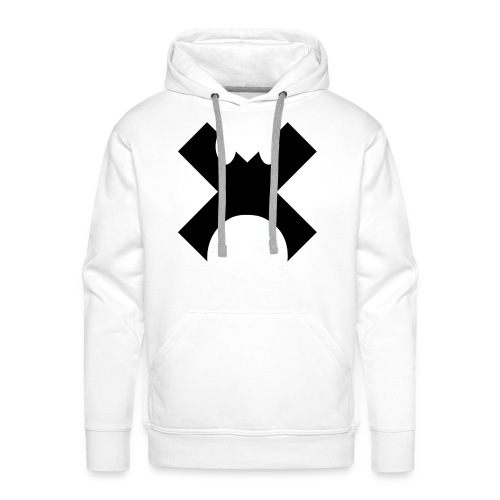 Cross Control Hoodie Black Logo - Men's Premium Hoodie